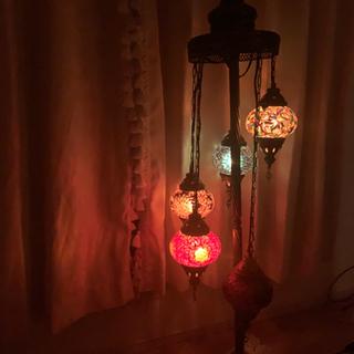 モロッコ ランプ