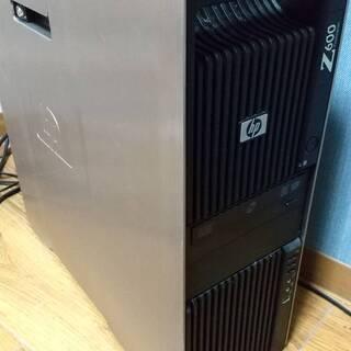 HP Z600 ワークステーションSSD搭載済み+無線LANアダプタ