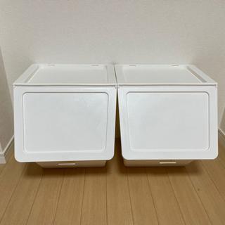【ネット決済】ダストボックス 2個セット