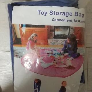 【未使用品】 おもちゃ収納袋 ネイビー