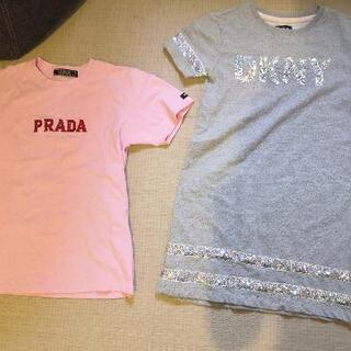 120/130女の子、Tシャツと、ワンピース