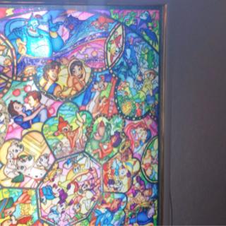 ディズニーパズル ステンドグラス調✨ 完成品