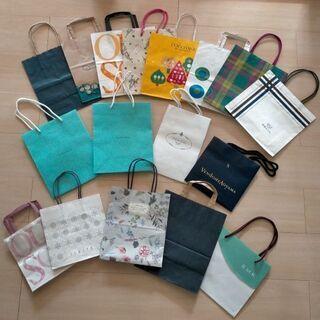 【Tiffany】【PRADA】【百貨店】ショップ袋