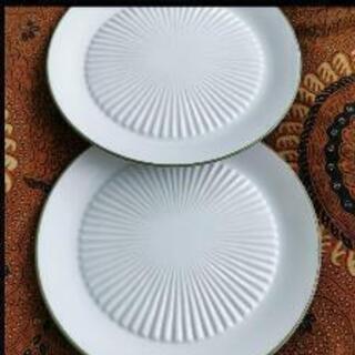 タニタ食堂 皿と茶碗2客&豆型皿