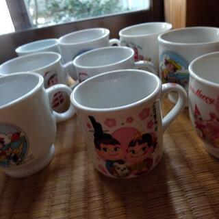 ペコちゃんのカップ多数,一個の価格