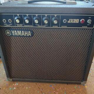 YAMAHA JX-20 アンプ、マイク✕2、シールド✕1