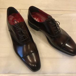 【ネット決済・配送可】革靴・未使用・定価21,000円→7,000円