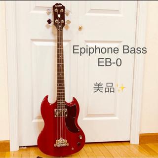 【ネット決済】【引取り限定☆美品】Epiphone EB-0 B...