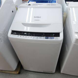 日立 2018年製 7.0kg 洗濯機 BW-V70BE モノ市...