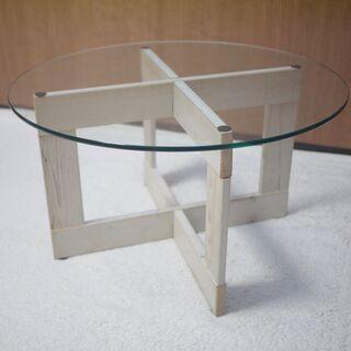 ガラステーブル 円形