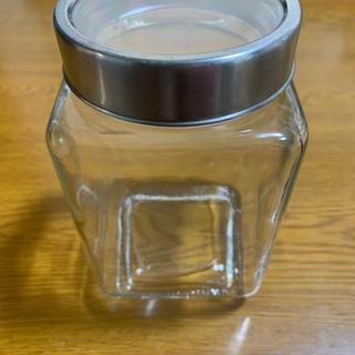 保存容器(ガラス)×3