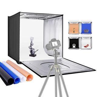 Neewer 写真スタジオライトボックス 60cm撮影ライトテント