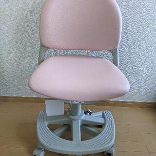 <美品>KOIZUMI 子供用 学習椅子 ライトピンク