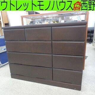 タンス ニトリ 4段 チェスト NITORI 幅120×奥行42...
