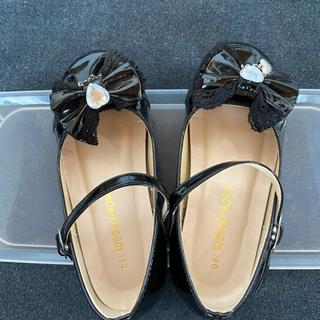フォーマルシューズ フォーマル靴 女の子用 19センチ