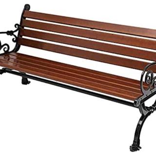 屋外に置くベンチを探しています
