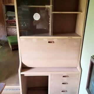 学習机(テーブル開閉式) 88cm×178cm×42cm