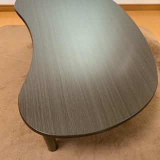 【ニトリ】ダークブラウンのローテーブル
