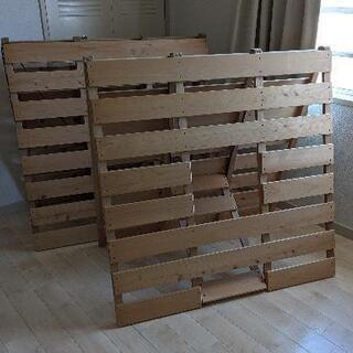 【ネット決済】すのこベッド シングルサイズ 2個