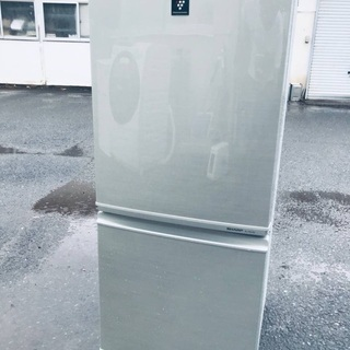 ♦️EJ1233番 SHARPノンフロン冷凍冷蔵庫 【2013年製】