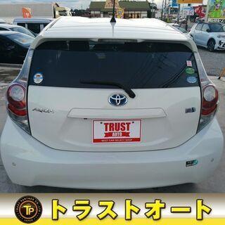 トヨタ アクア1.5 S 純正ナビテレビ バックカメラ コーナーセンサー  車検付き - トヨタ
