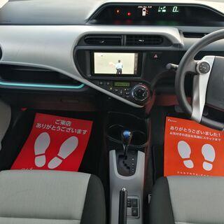 トヨタ アクア1.5 S 純正ナビテレビ バックカメラ コーナーセンサー  車検付き - 中古車
