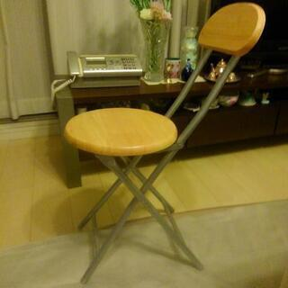 【ネット決済・配送可】折り畳み椅子