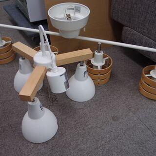 中古品 ニトリとトヨスターの照明器具 2点セット