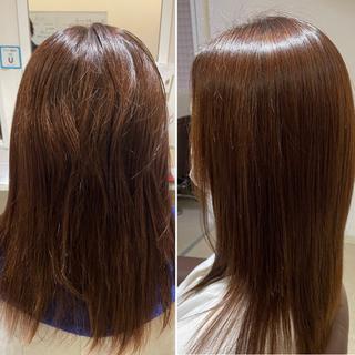 富士市 髪質改善ストレート