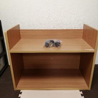 【収納】木製ラック【コロコロ付き】
