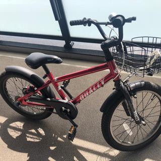 【ユーズド】18インチ男児用自転車