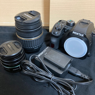 美品PENTAX K−70 単焦点&広角ズームレンズセット