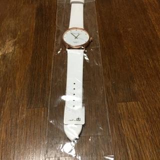 未使用時計 ホワイトベルト