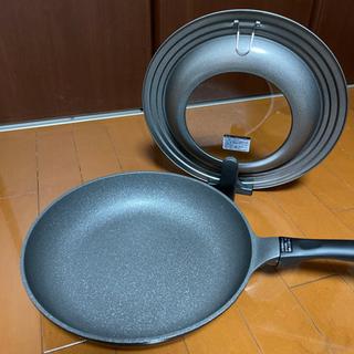 ニトリ 超軽量フライパン&蓋セット!!28cm