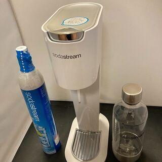 ソーダストリーム sodastream ホワイト 未使用
