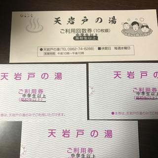 【高千穂】天岩戸の湯利用券