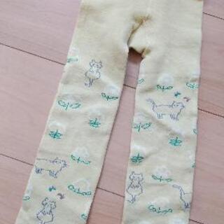 プチジャム猫とお花柄スパッツ②100-110