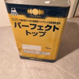 水性ペンキ 日本ペイント ND-400 白色ですがグレー系…