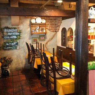 蒲田のパスタとピザの店の画像