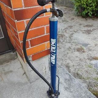 取引中 自転車 空気入れ 2 差し上げます。