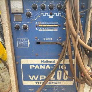 National Pana Wp-200Tig 溶接機