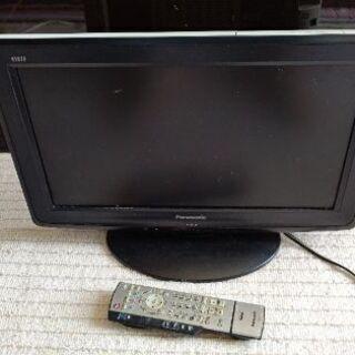 パナソニック10年19インチ地デジ液晶テレビ