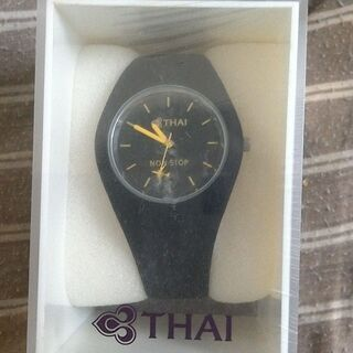 タイ航空 非売品 アナログ腕時計 +おまけ付き