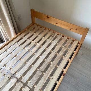 【無印】すのこベッドフレーム