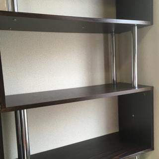 S字ラック(5段タイプ) 本棚 飾り棚 - 家具