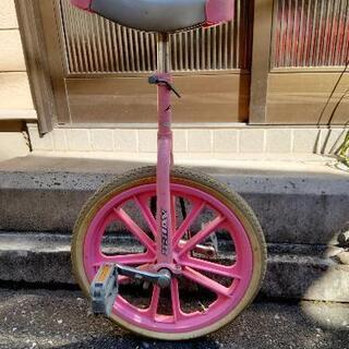 【ネット決済】一輪車 ピンク