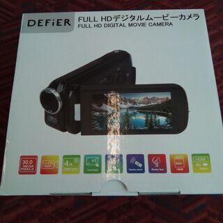 新品未使用 ジョワイユ フルHDビデオカメラ 800万画素CMO...