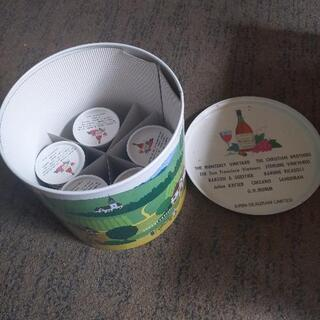 蓋付き親子缶セット☆大きい缶1つと小さい缶5個