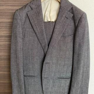 【ネット決済】【美品】シルク混スーツ2着セット
