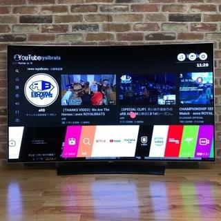 即日受渡❣️有機EL55型4K Ultra HD テレビ6…